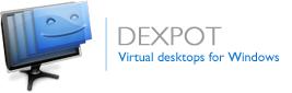 برنامج مميز يمكنك من عمل حتى 20 سطح مكتب افتراضى مختلف على جهازك مجانى Dexpot 1.6.7